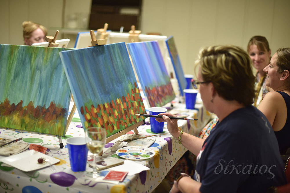 Wine and Canvas classes