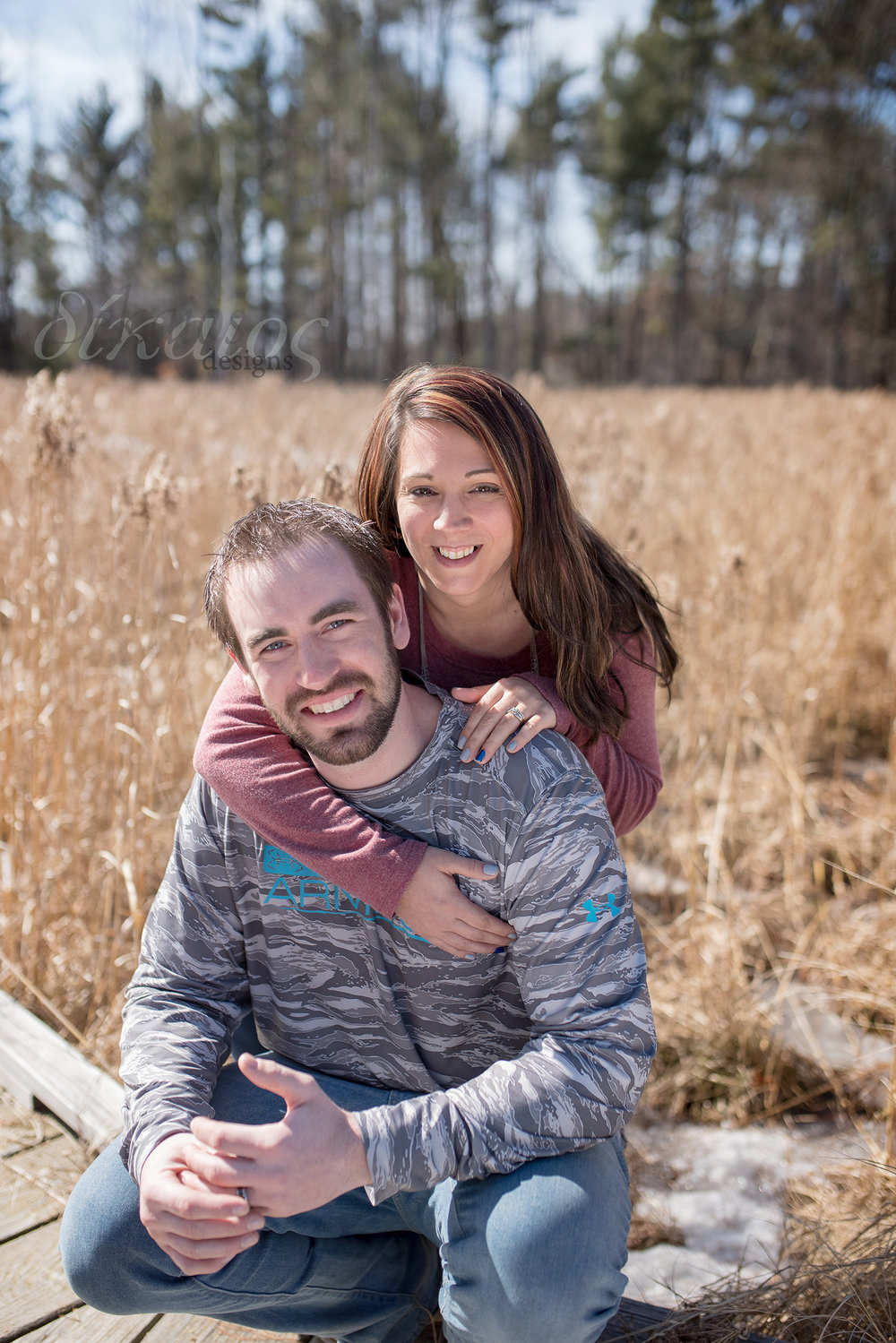 Engagement session for Mitch and Kristen who were married in September.