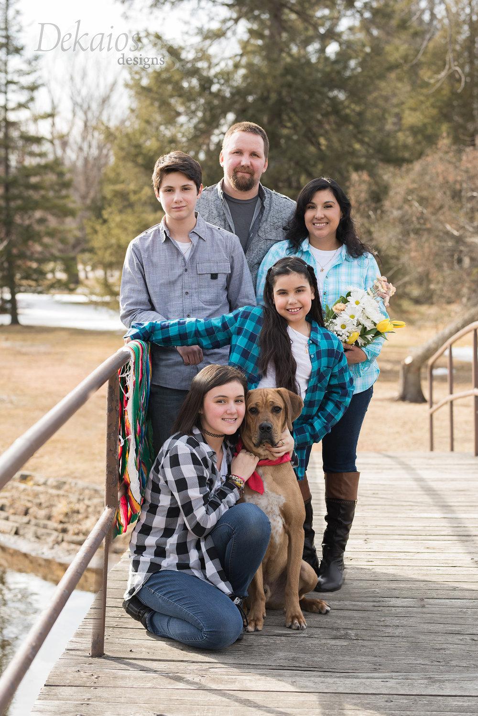 Family photos at the park!
