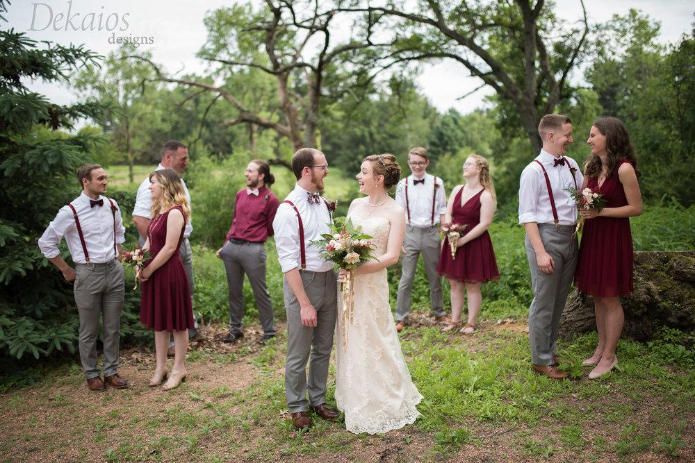 Graham+Kelsey's beautiful wedding at Caribou Bay.