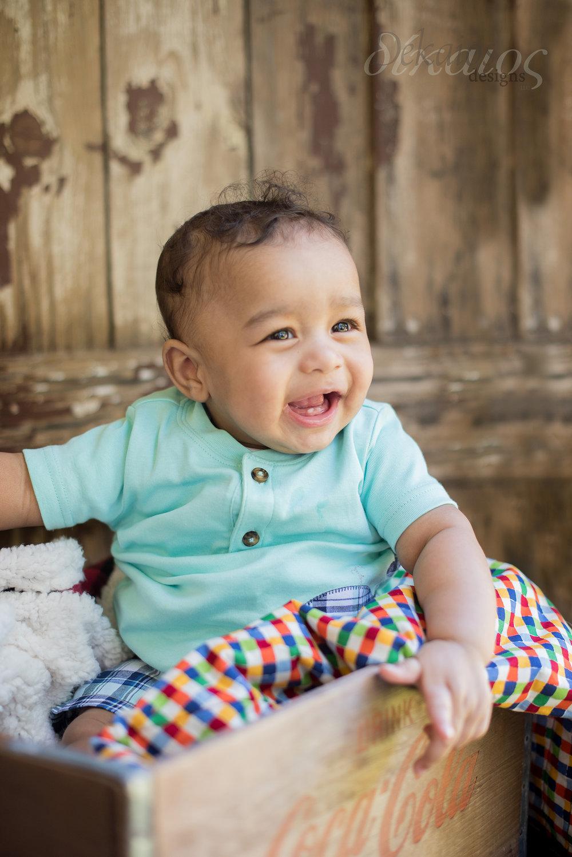 We met a new little cutie in June, Dravin!