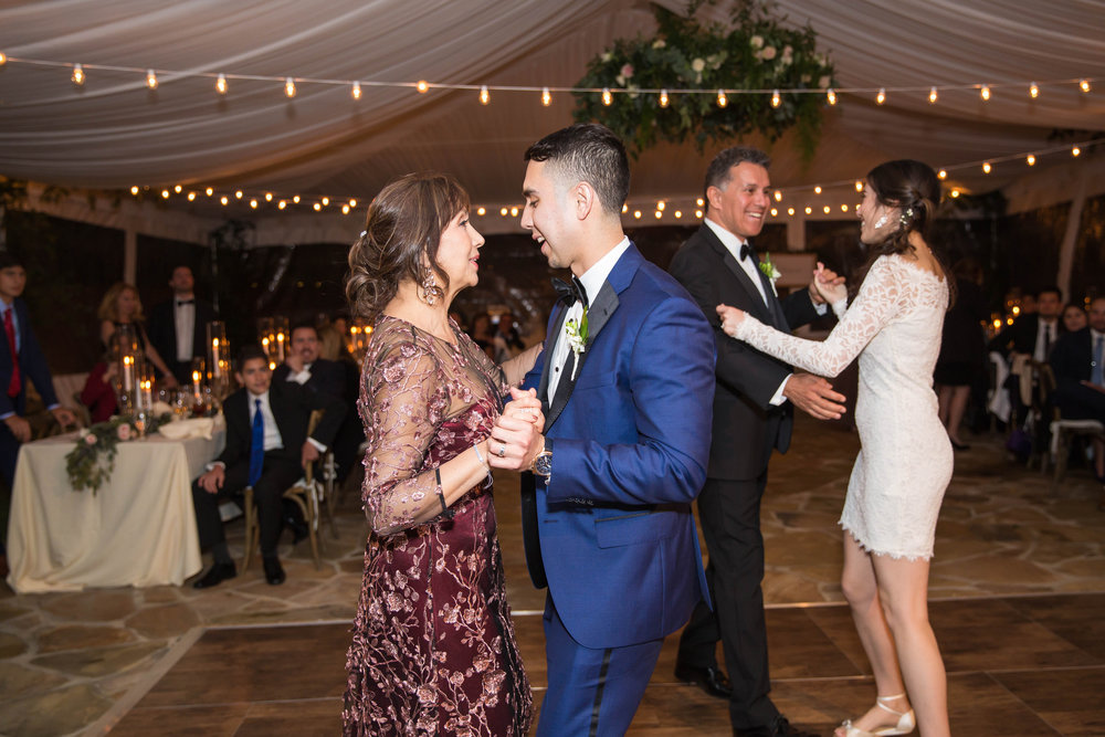My father-in-law pulled me on the dance floor during the same song since I didn't have a father daughter dance! So, so touching!