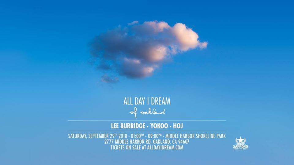 Dear Bay Area Dreamers, today we announced our next event on Saturday 9/29/18 at the beautiful Middle Harbor Shoreline Park. Tier 1 discount early bird tickets go on sale next week. We recommend RSVP'ing at Facebook event page to get real-time updates and for the ticket release date/time.