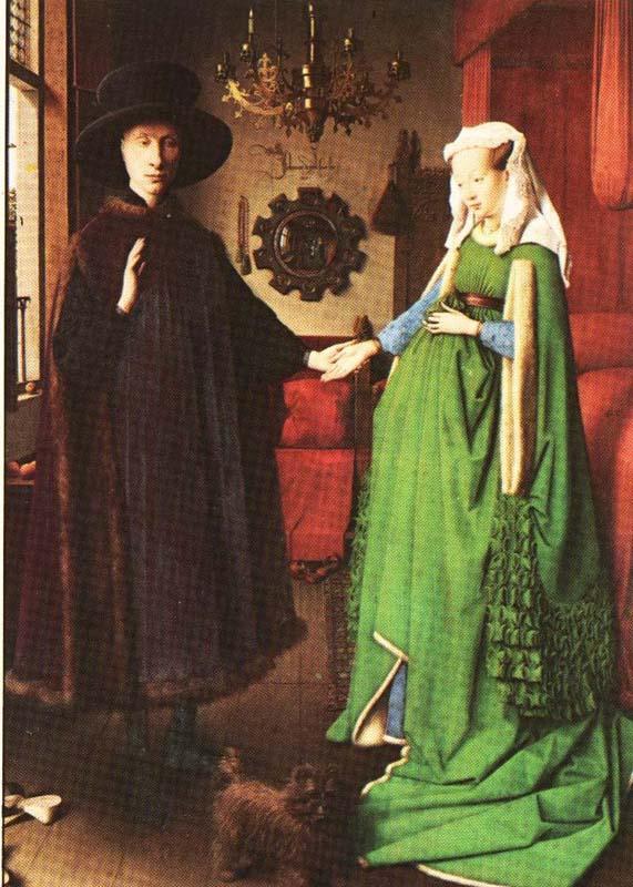 Jan van Eyck's The Arnolfini Wedding