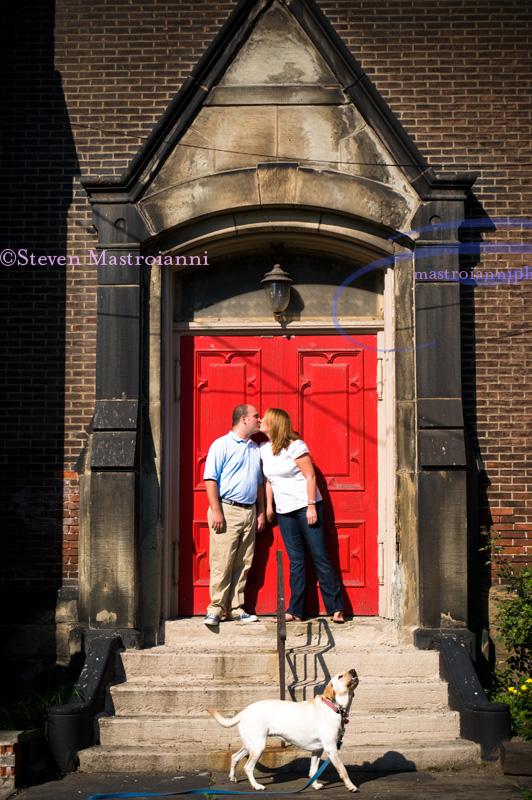 engagement photo cleveland