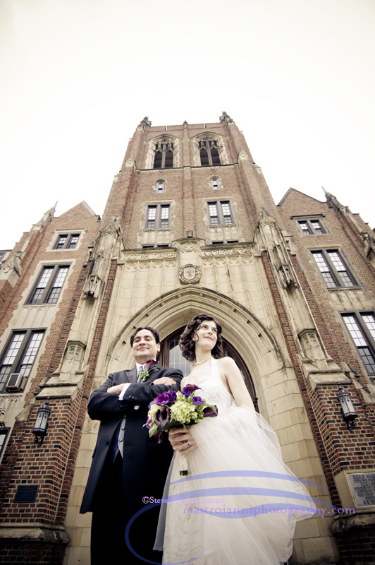 wedding notre dame south euclid