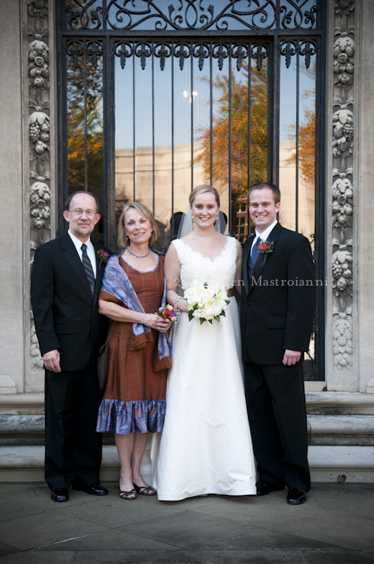 Western Reserve Historical Society wedding
