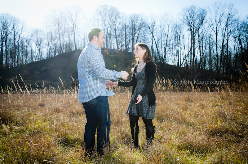 Cuyahoga valley engagement portraits (6)