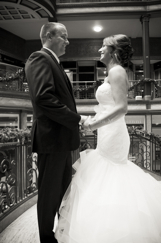 Hyatt Arcade wedding photos