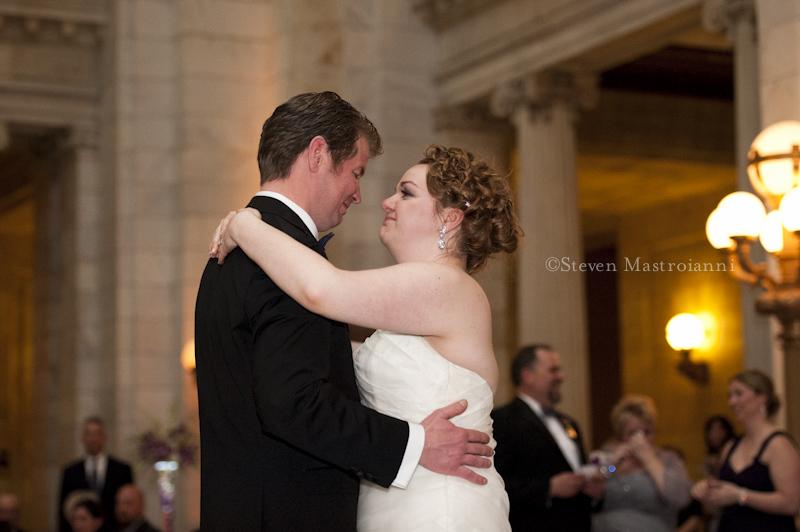 st patrick old courthouse cleveland wedding photo (69)