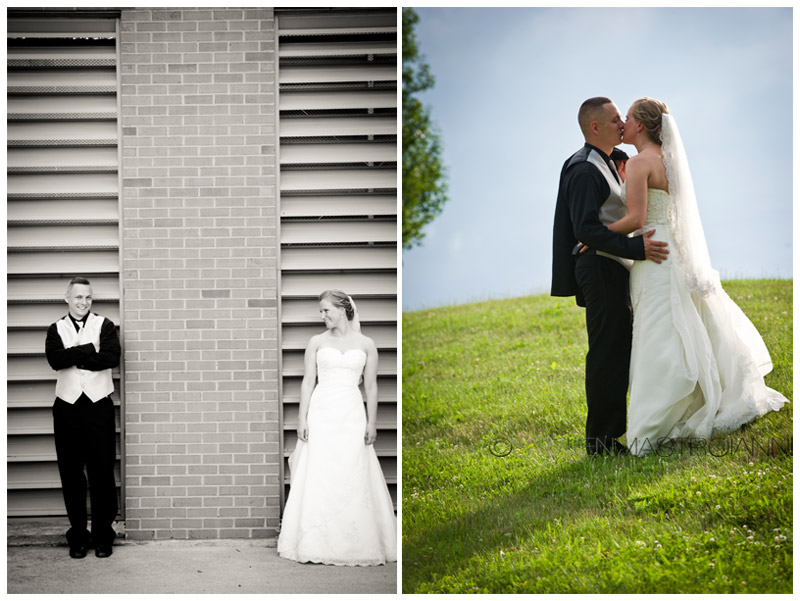 KSU Stark Campus wedding photos