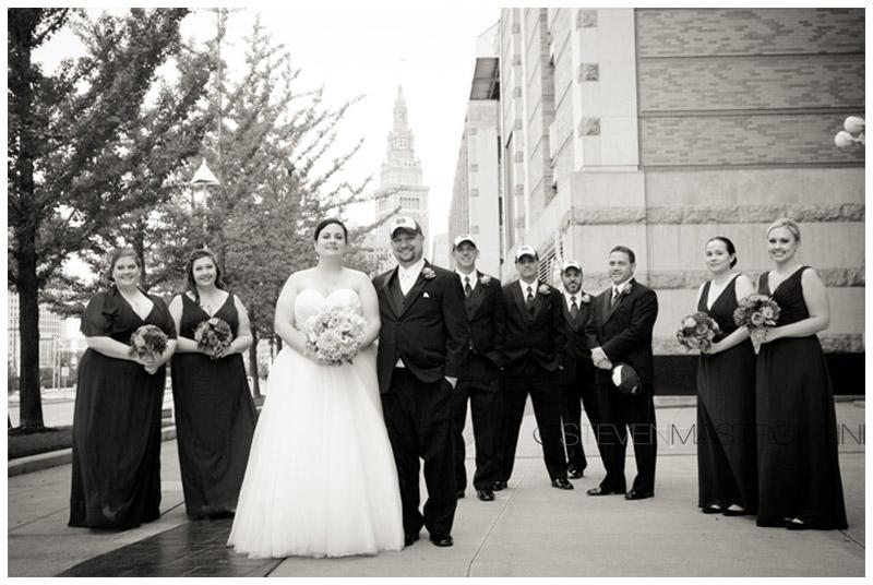 progressive field wedding cleveland