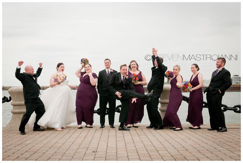 Cleveland Voinovich park wedding photos
