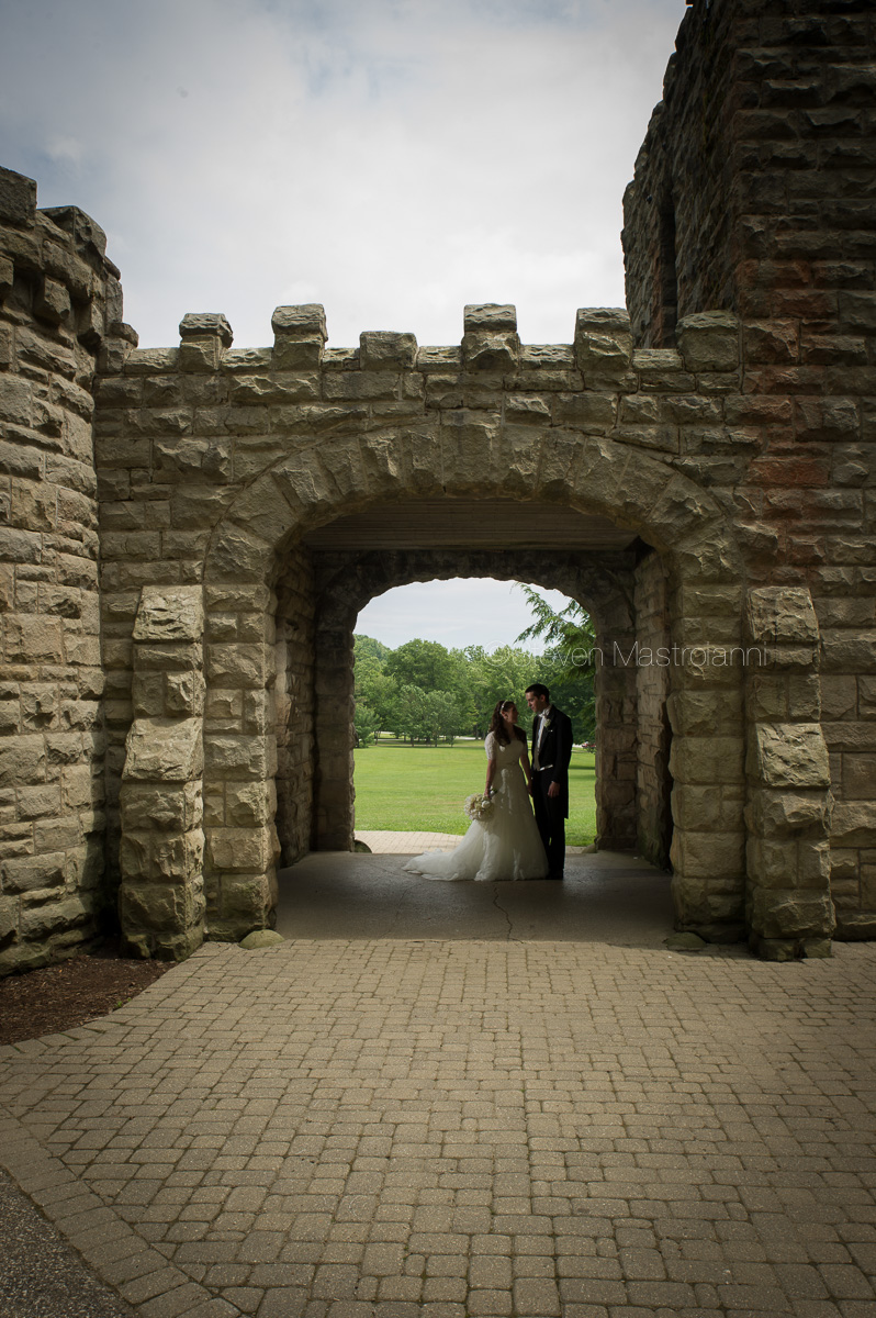 squires castle wedding photos