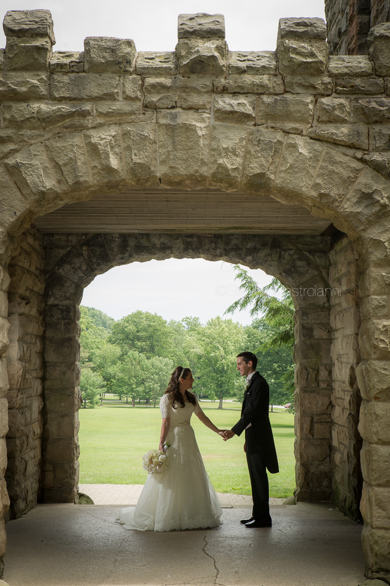 squires castle wedding photos