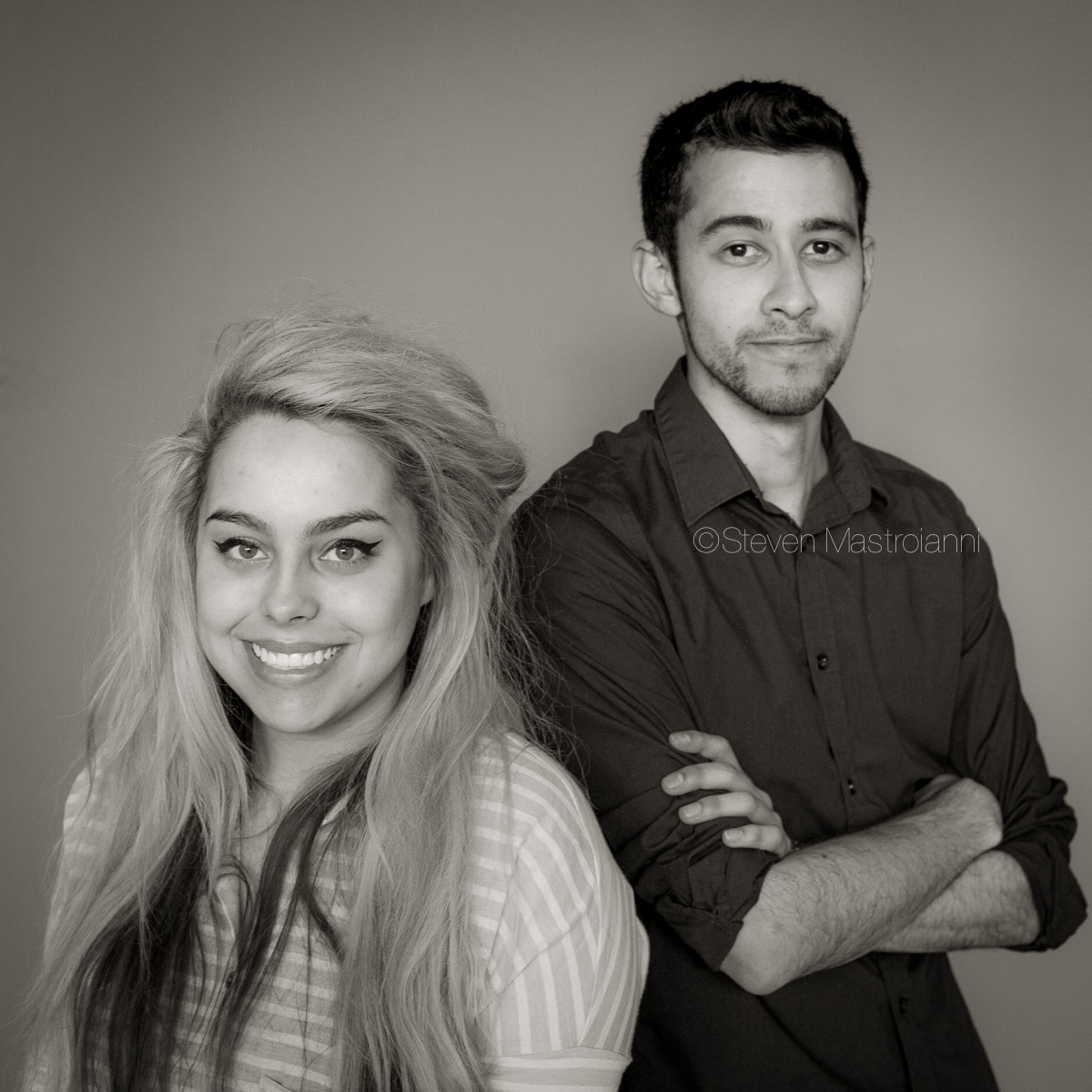 CIA students Victor and Nicole