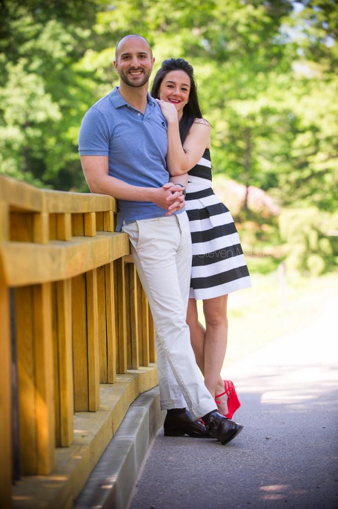 holden arboretum wedding engagement photos (13)