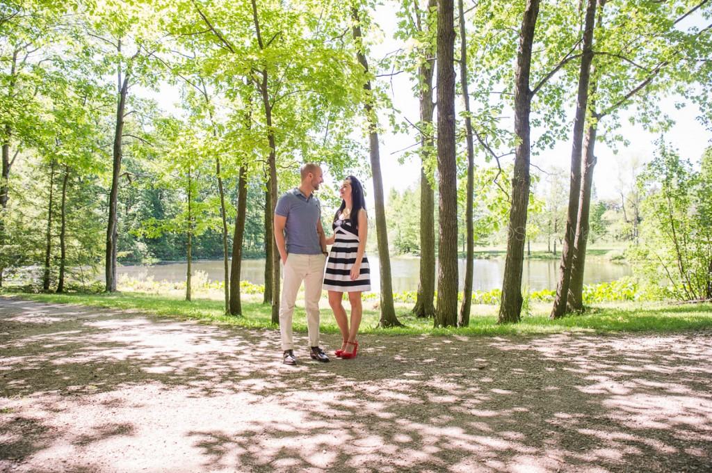 holden arboretum wedding engagement photos (11)