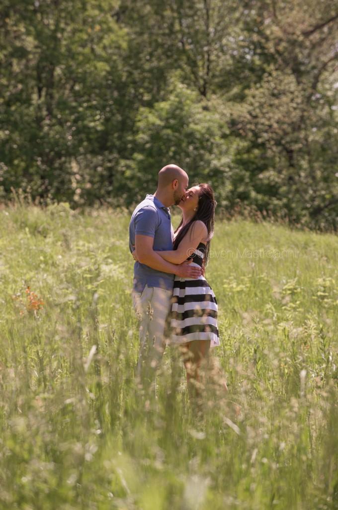 holden arboretum wedding engagement photos (4)