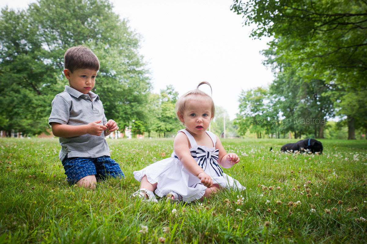Family photo session in Shaker Heights