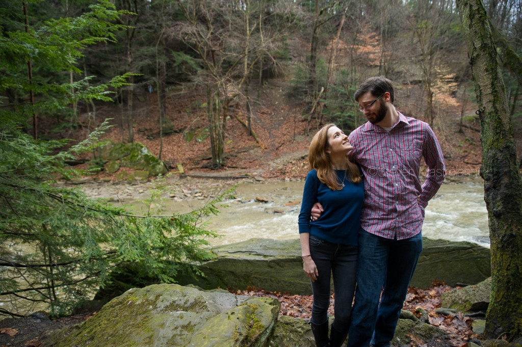 engagement session at Chagrin Reservation (17)