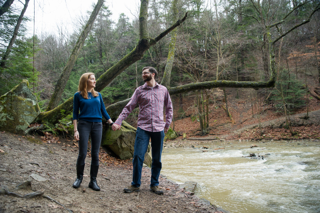 engagement session at Chagrin Reservation (16)