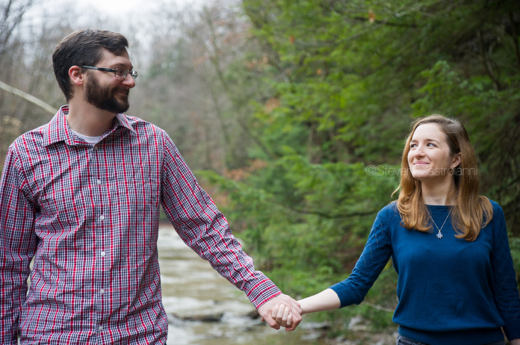 engagement session at Chagrin Reservation (15)