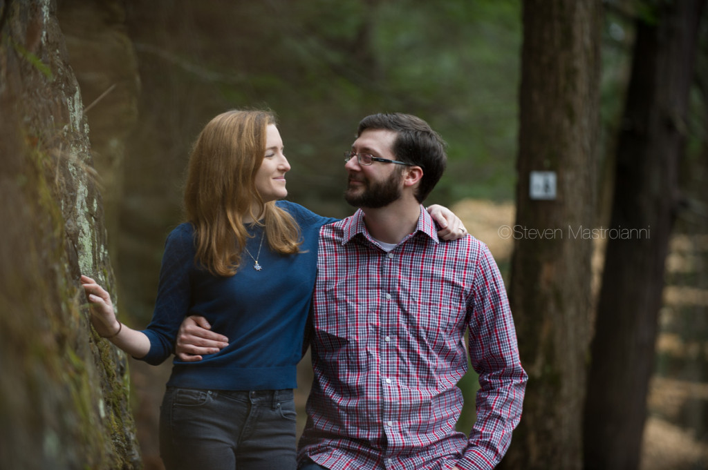 engagement session at Chagrin Reservation (10)