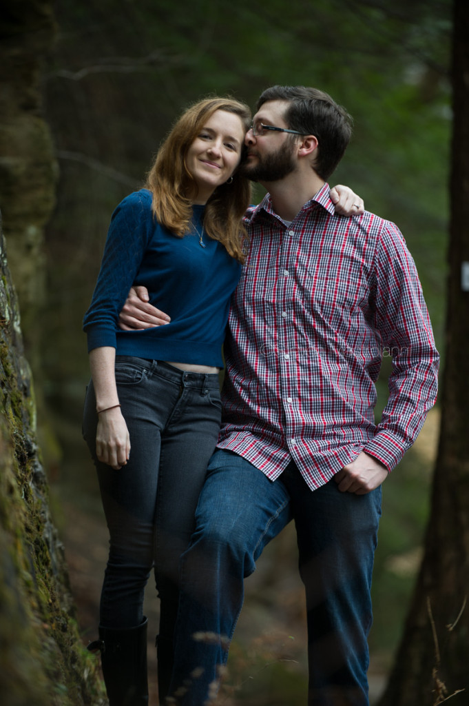 engagement session at Chagrin Reservation (9)