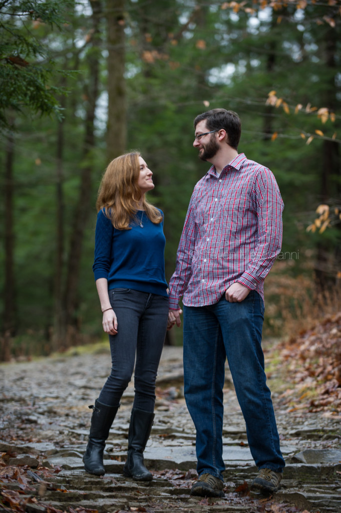 engagement session at Chagrin Reservation (5)