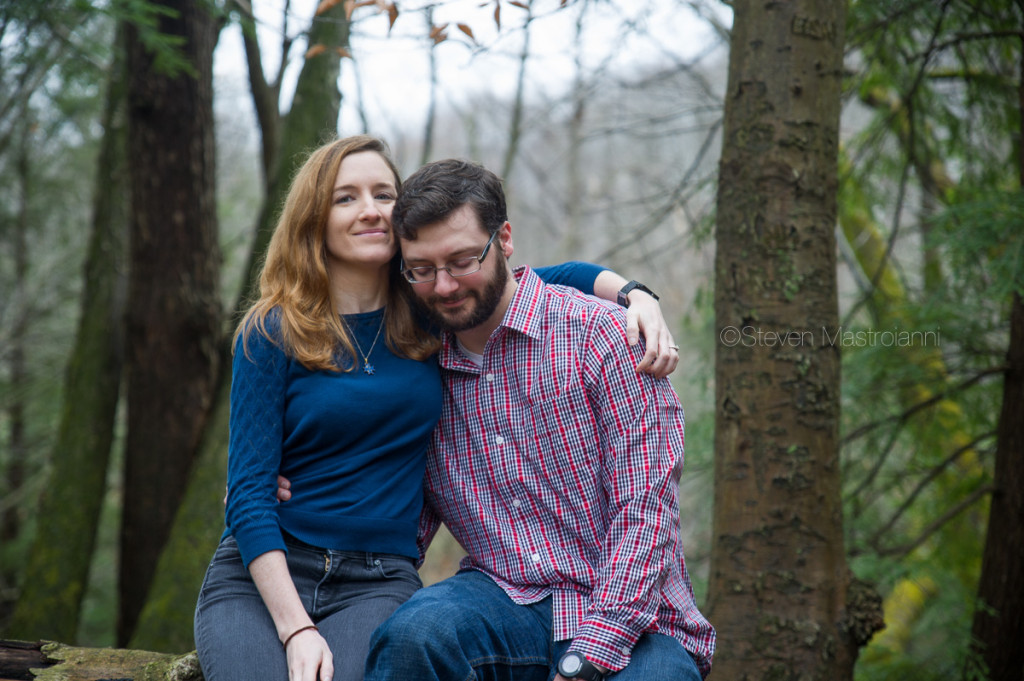 engagement session at Chagrin Reservation (2)
