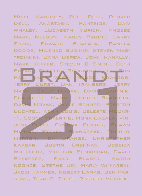 Brandt 21 exhibit