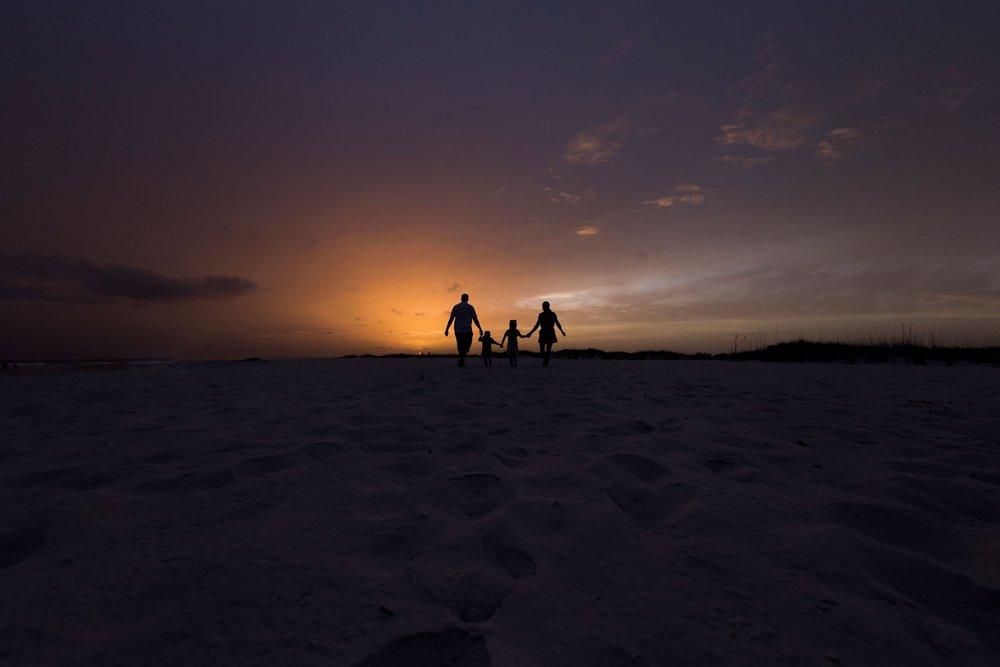 Gulf Shores Alabama beach photographer captures sunset