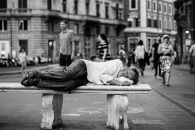 The homeless are most vulnerable to temperature fluctuations