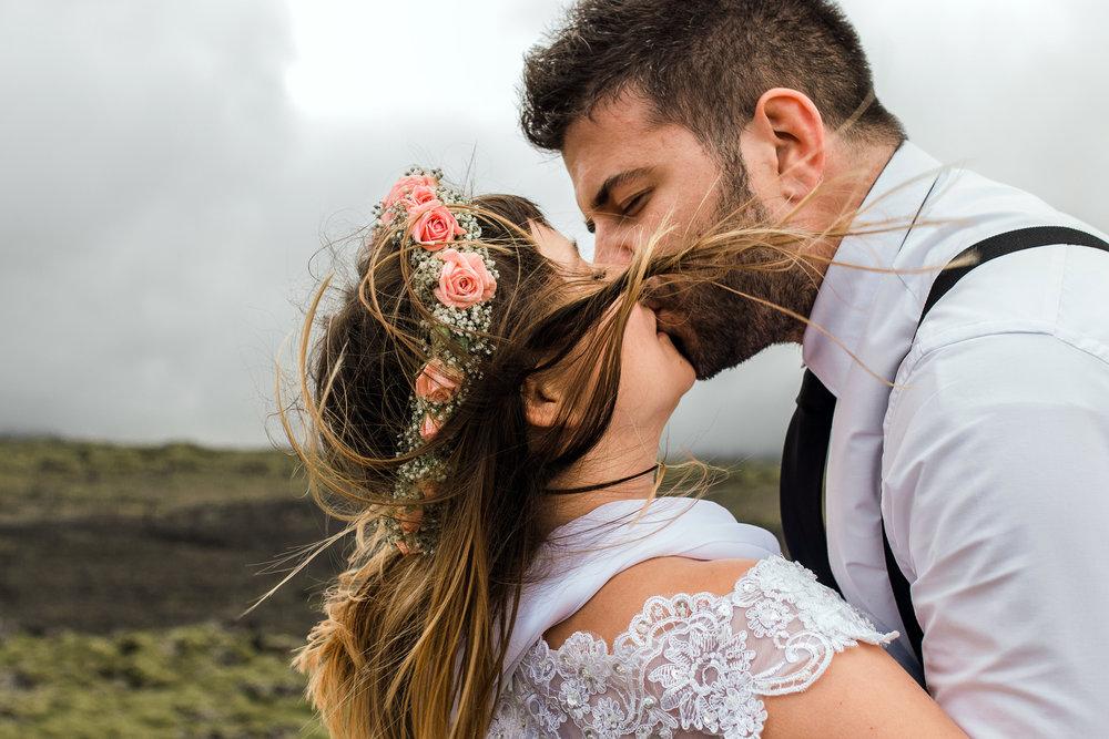 Icelandic wedding photography