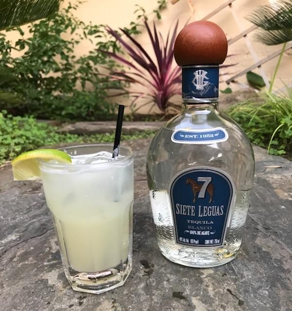 siete leguas paloma  A tasty blend of fresh lemon juice, grapefruit juice, Siete Leguas tequila and a splash of lemon lime soda  $8