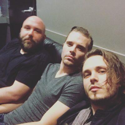 Tour 2016 Band Backstage