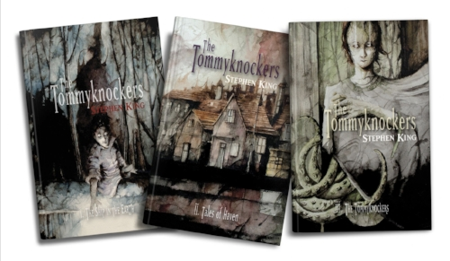 Tommyknockers 3 volumes