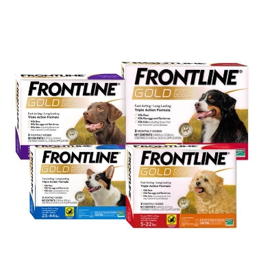 Buy 3 Get 1 Free - Buy 3 doses of Frontline Gold and Get 1 FREE dose!