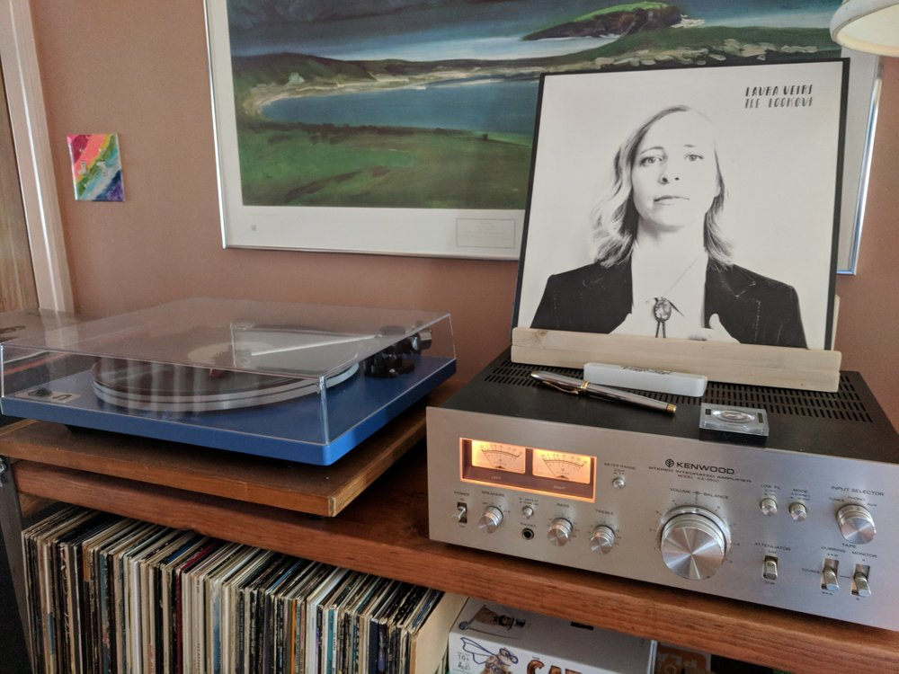 Laura Veirs is in the house! (And on the turntable.)