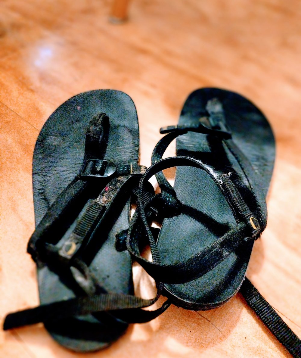 My Luna Sandals. You really deserve a pair.
