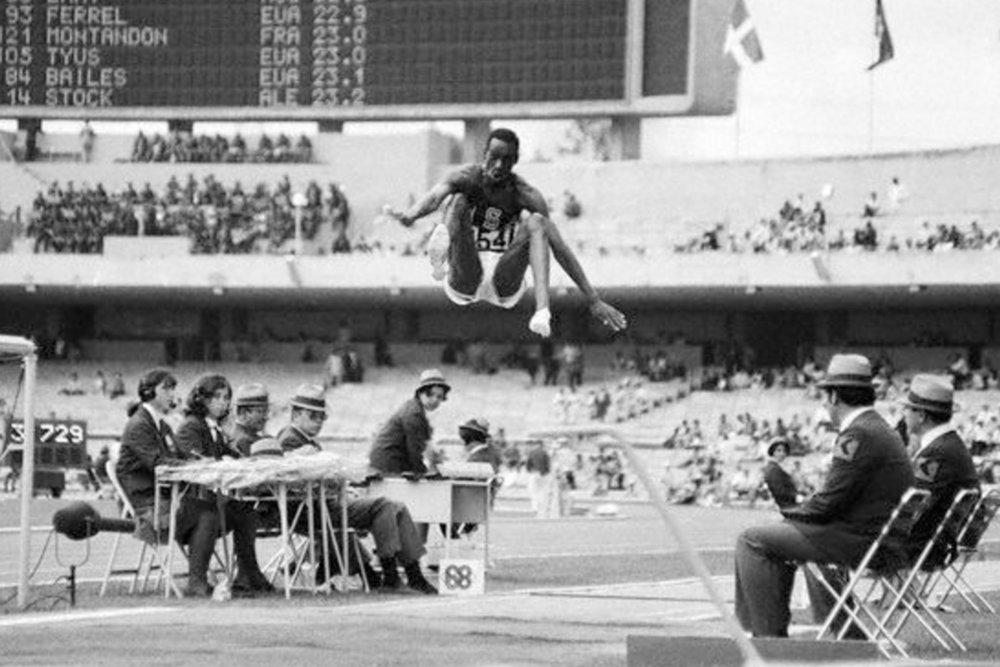 Did Bob Beamon feel like he could go on forever?