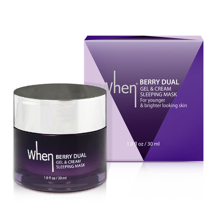 The Berry Dual Gel Sleeping Cream Face Mask travel product recommended by Amanda Tropila on Pretty Progressive.