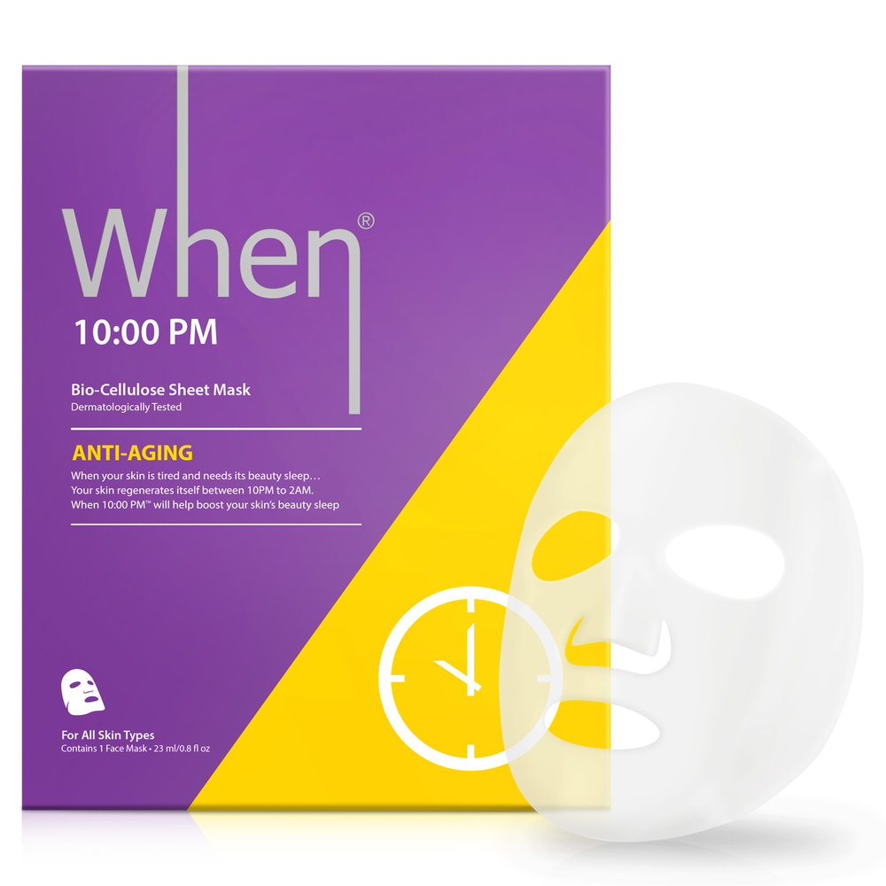 10:00 PM (single) - anti-aging Sheet Masks