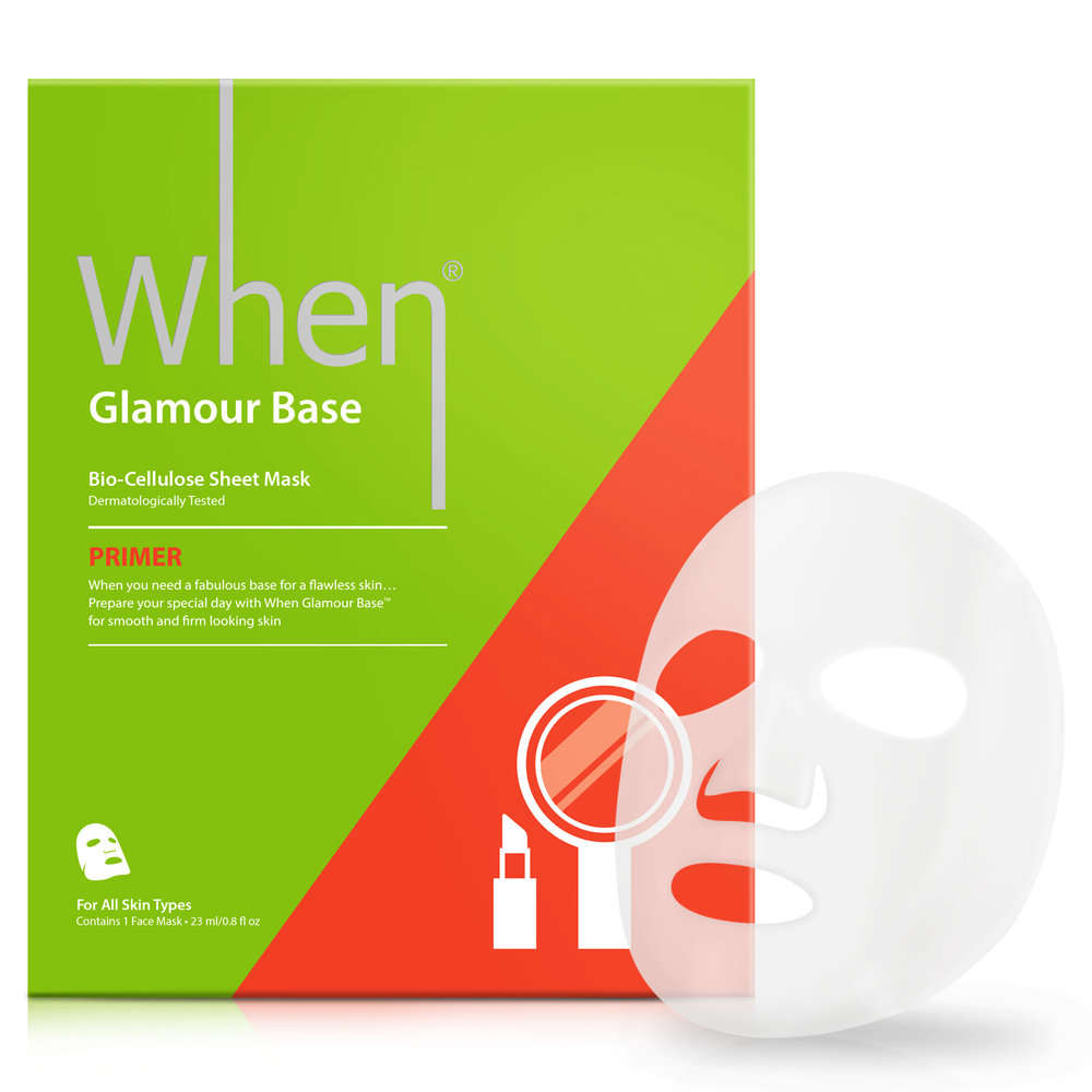 Glamour Base (single) - Primer Sheet Masks