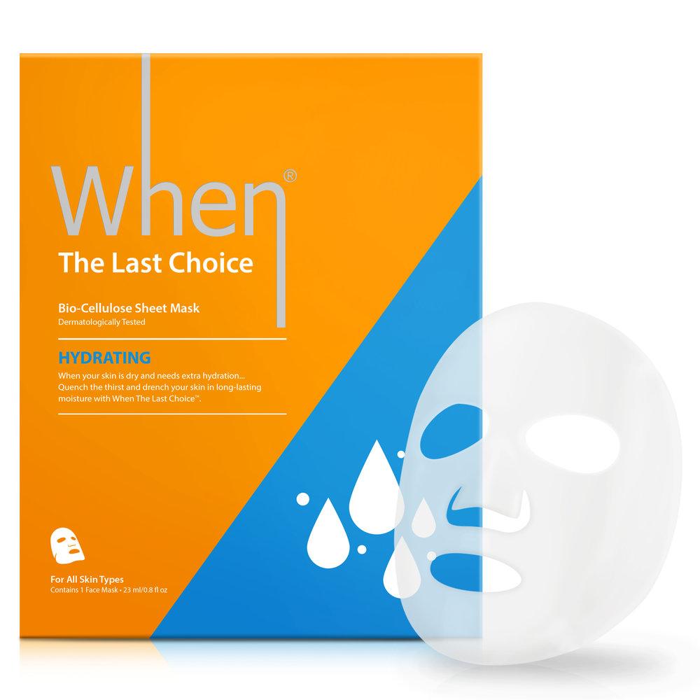 The Last Choice (single) - Hydrating Sheet masks
