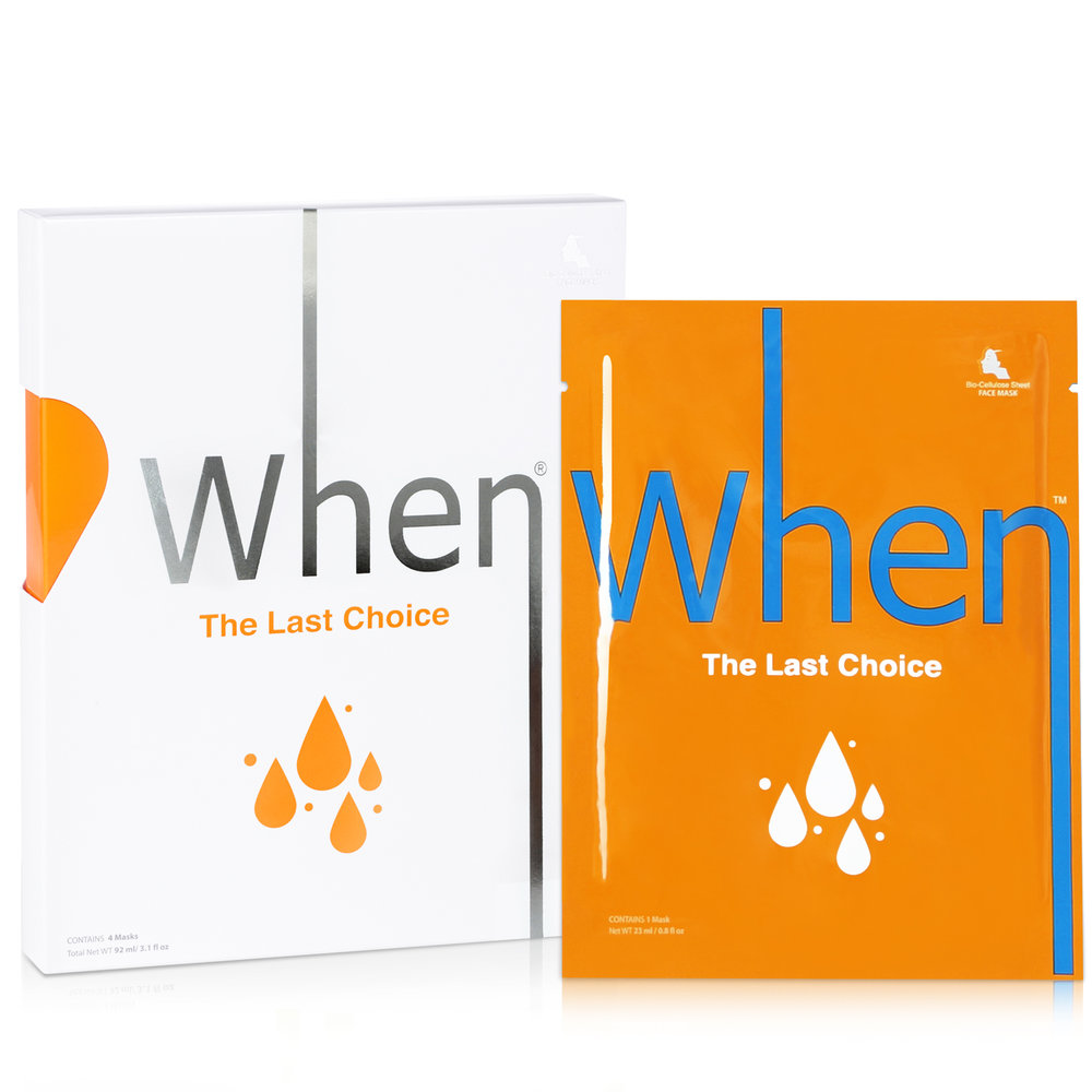 The last choice (4 pack) Sheet masks