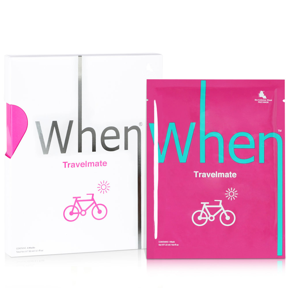 travelmate (4 pack) Sheet Masks