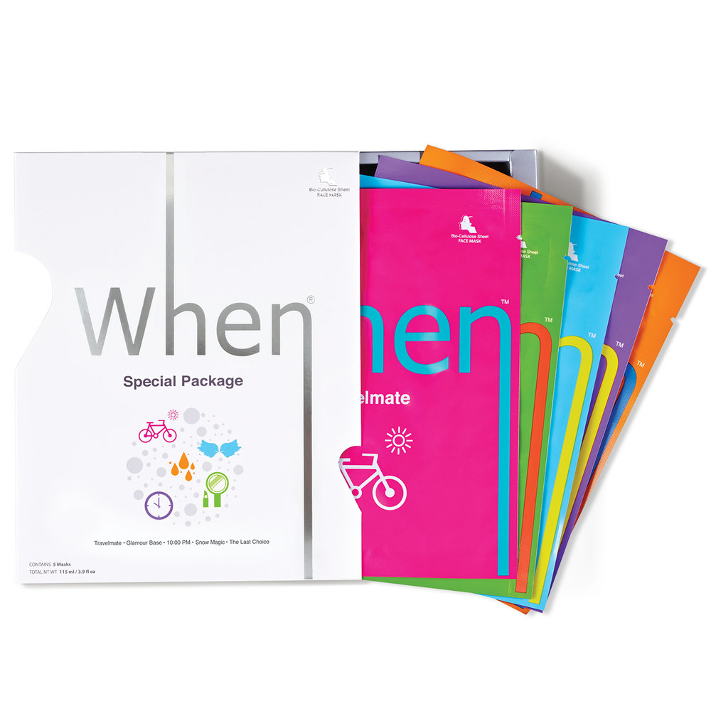 Special Package (All 5 in 1) Sheet Masks