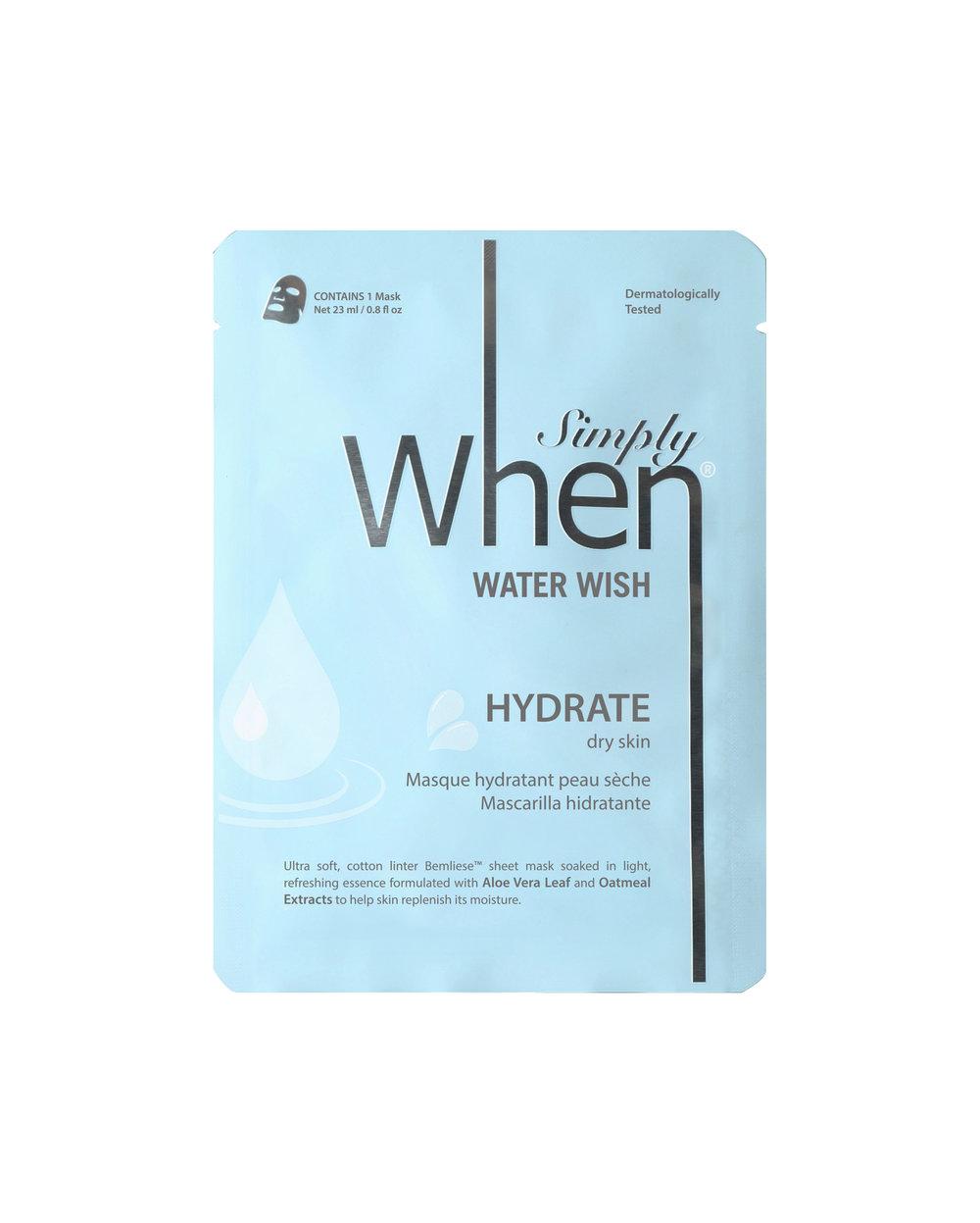 Water Wish sheet mask